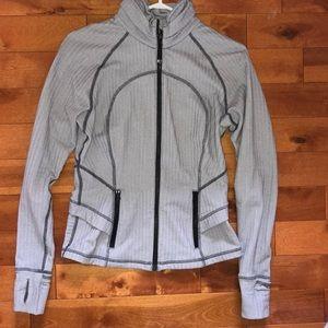 Lululemon sweater - grey and white design